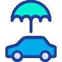 Symbol poistenia auta